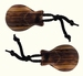 SONORUS Traditional Castagnettes (1 pair) Indian Rosewood **4