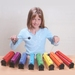 BOOMWHACKERS Rainbow tube set 8pcs **3